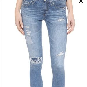Ag digital luxe jeans size 28 never worn!!